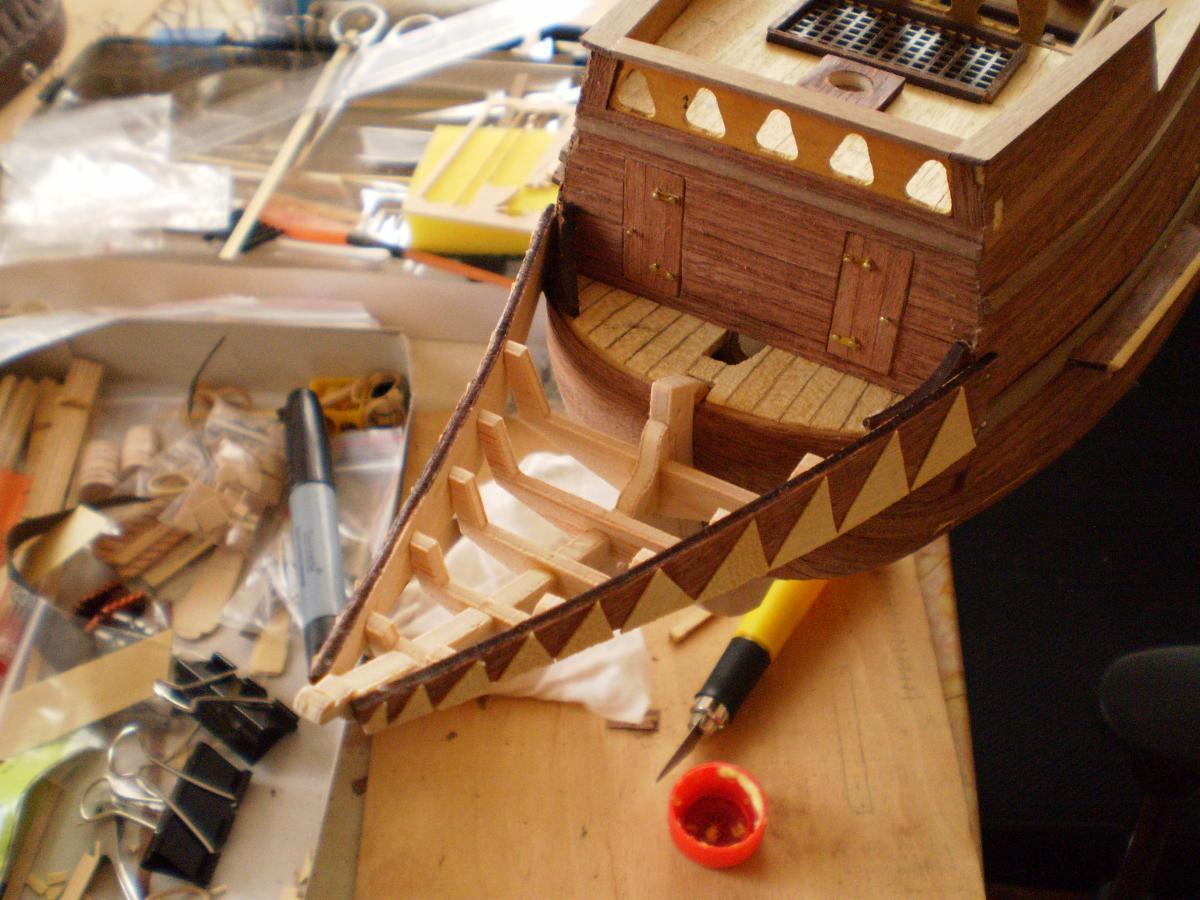 Как сделать парусный корабль из дерева своими руками 55