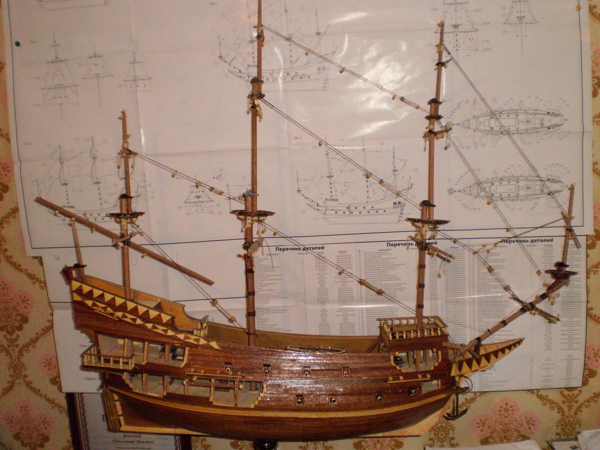 Как сделать парусный корабль из дерева своими руками 51